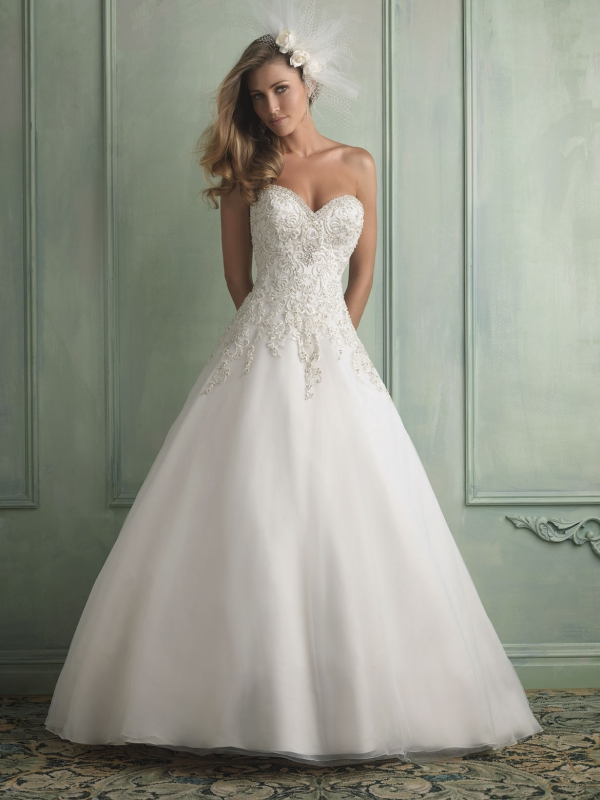 Wedding Dress San Angelo, TX Allure 9120 Bridal Boutique