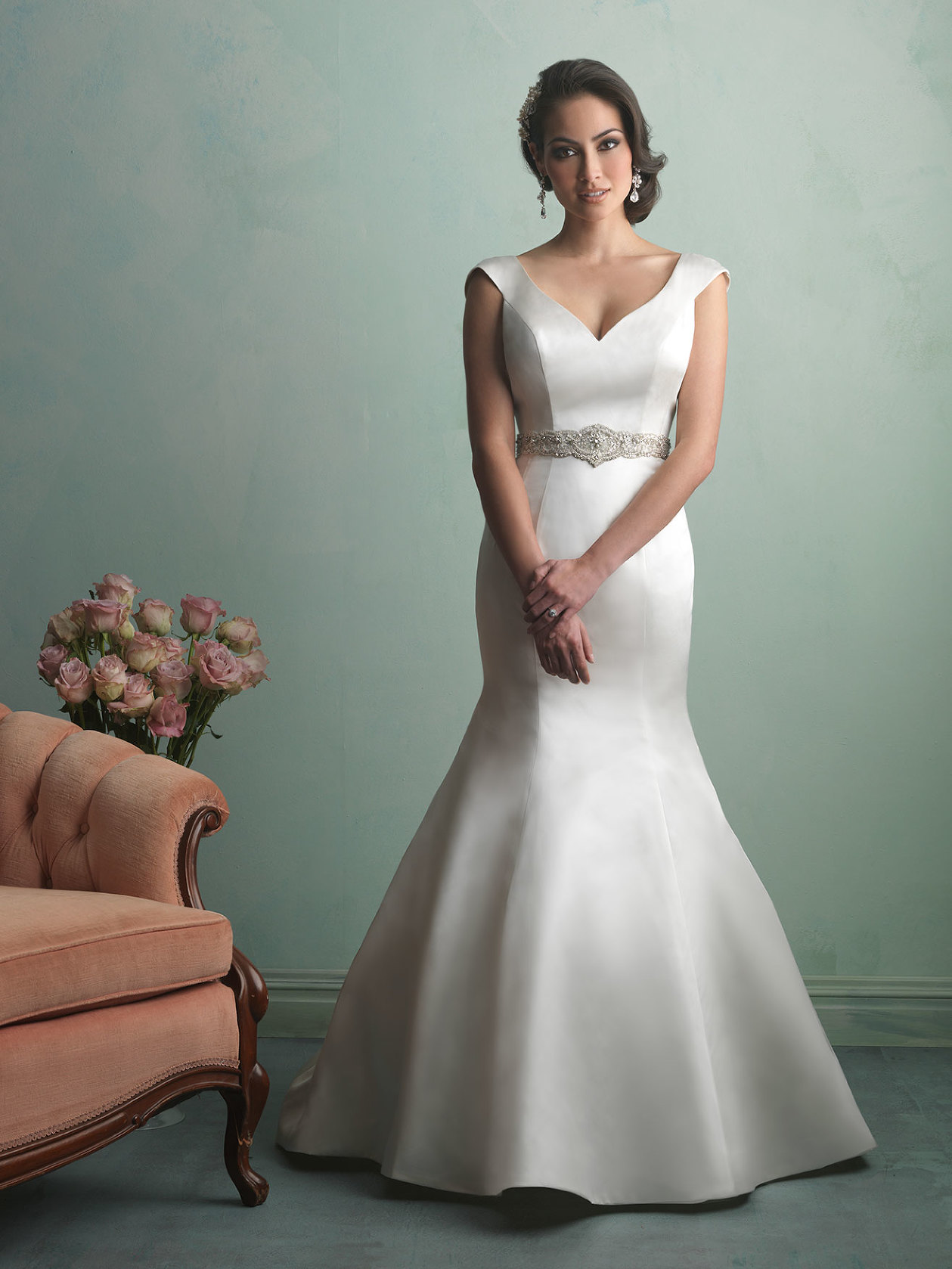 Allure 9163, Bridal Boutique, San Angelo, TX, Wedding Dress