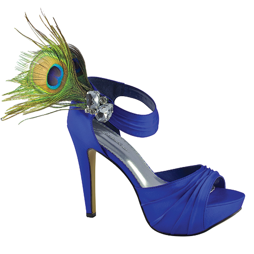 Bridal shoe, peacock, bridal boutique, san angelo, tx
