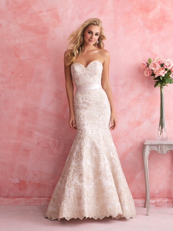 Allure Romance 2811, San Angelo, Wedding Dress, Bridal Boutique