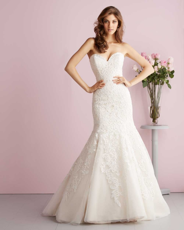 Allure Romance 2709, San Angelo, Wedding Dress, Bridal Boutique