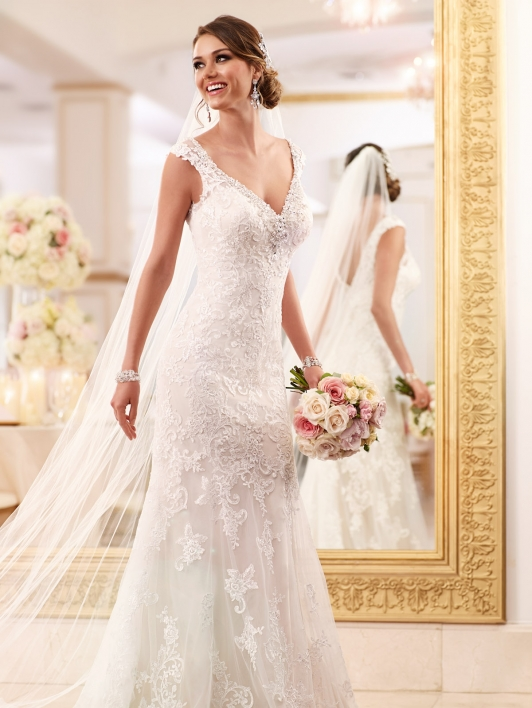 Stella york 6037 bridal boutique san angelo bridal boutique for Wedding dresses in san francisco