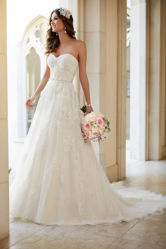 Stella York 5968, wedding dress, bridal, san angelo, bridal boutique