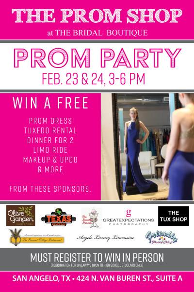 San Angelo Prom, Prom Dress, San Angelo